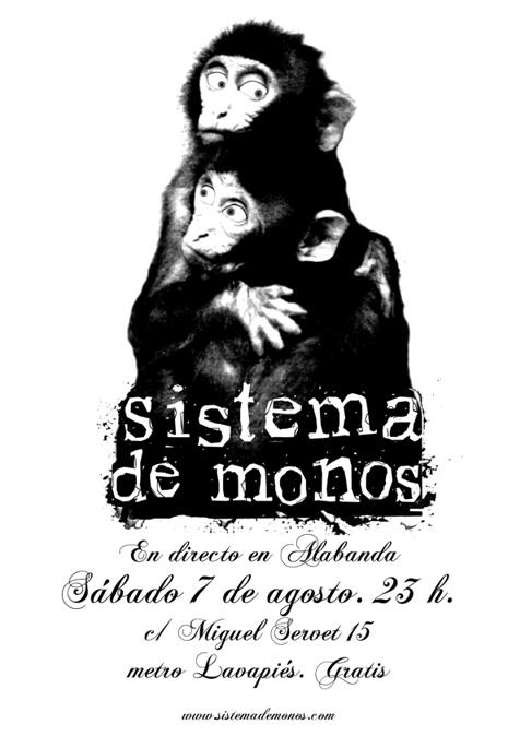 Sistema de Monos en directo en Alabanda